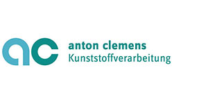 Das Anton Clemens Automotive Logo in blau/grau